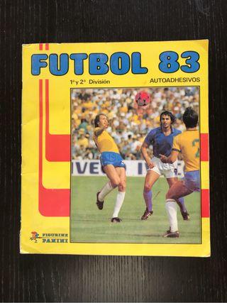 Álbum cromos liga 1983