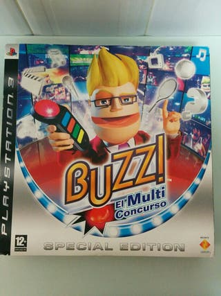 Buzz PS3 Inalámbrico