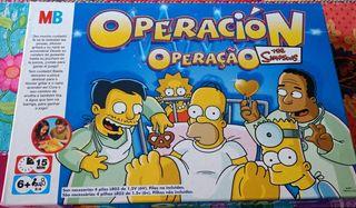 Juego de mesa - Operación Simpsons