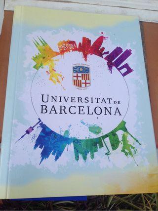 Carpeta y agenda UB 2017-18
