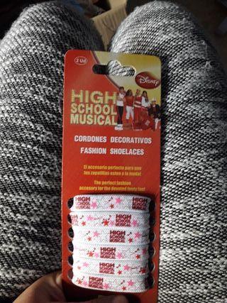 Paquete de cordones High school musical