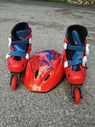 vendo set de patines de niño