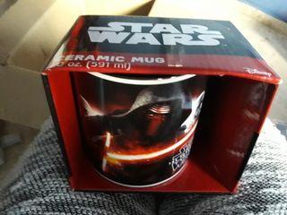 Taza de ceramica ENORME Star Wars