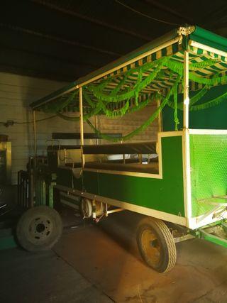 se vende carriola para el rocío y romerías