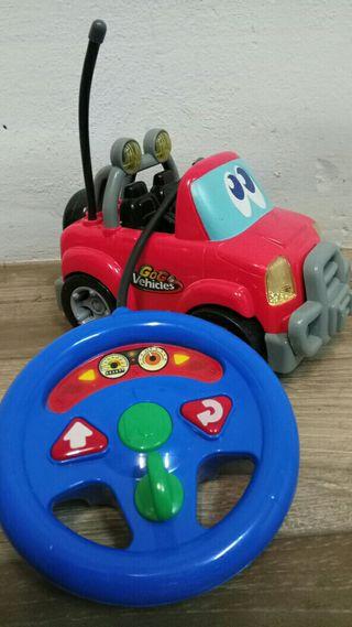 Mi primer coche teledirijido