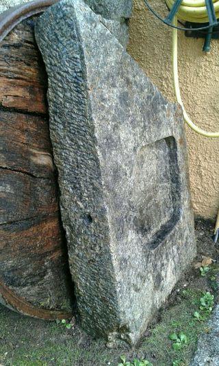 Fregadero de piedra