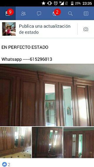 armario grande.6. puertas con espejos