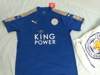 Leicester City Home Jersey 2017-2018 (Size - L)