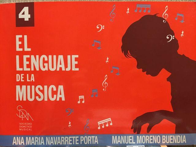 LIBRO: El lenguaje de la música 4 NUEVO