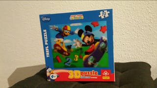 puzzle Mickey Mouse 3D