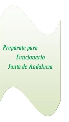 Temario Auxiliar y administrativo Junta Andalucia