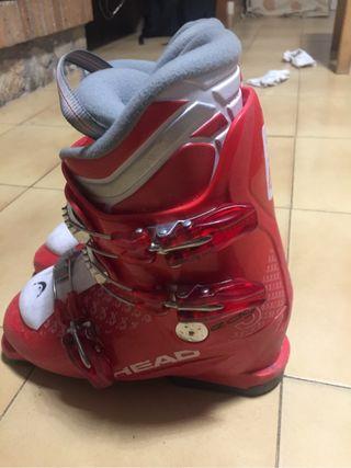 Botas esqui junior head