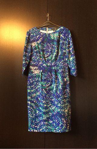 Vestido, 100% seda, marca Amitié, El Corte Inglés, T42, puesto una vez, impecable.