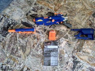 Pistola Nerf Lonstrike cs-6