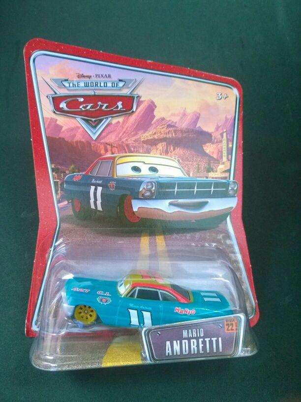Coche Mario Andretti de Cars Disney Pixar
