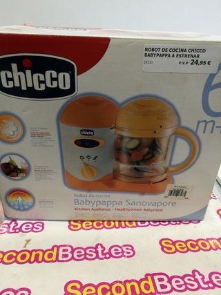 robot de cocina chicco babypappa