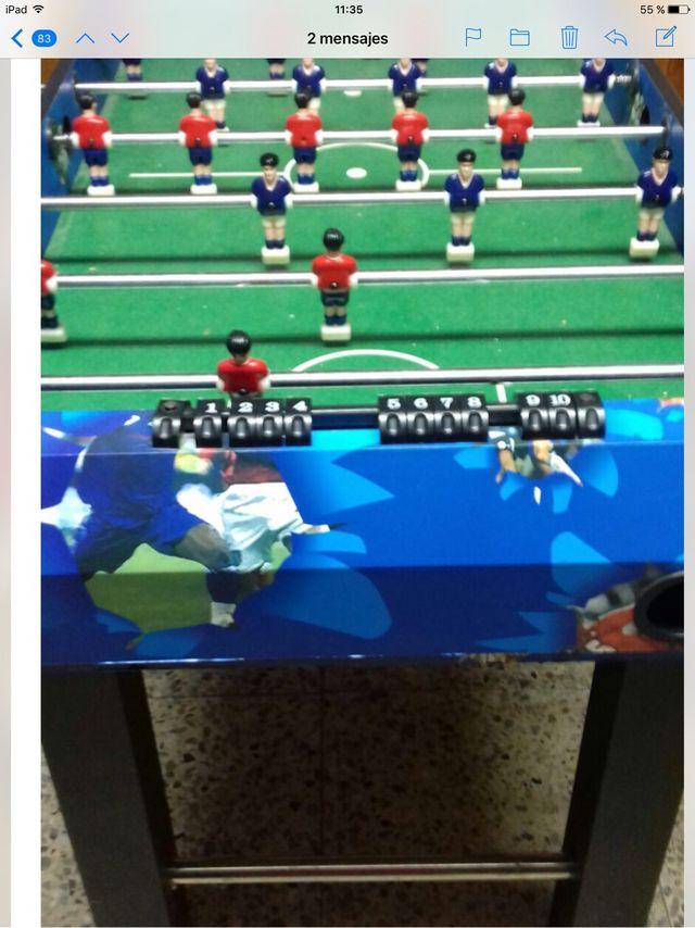 Mesa multijuegos futbolin