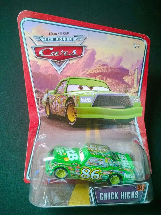 Coche Chick Hicks de Cars Disney Pixar