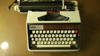 maquina escribir brother deluxe 1300