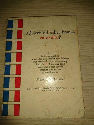 ¿Quiere Vd. saber Francés en 10 días?