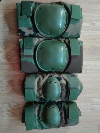 Rodilleras y Coderas militares