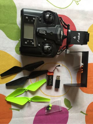 Mando drone, batería cargador