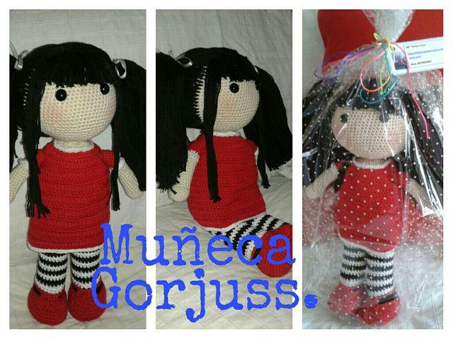 Häkeln Sie wunderschöne Bär Puppe Amigurumi Gorjuss Puppe | Etsy | 480x640