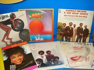 lote de 6 vinilos black music.80/90 descatalogados