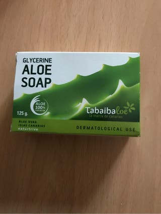 Jabon glicerina Aloe