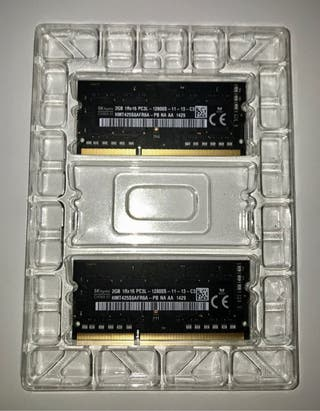 Memoria ram 4go ddr3 MacBook y Imac