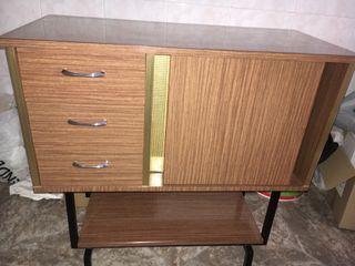 Mueble bar años 60