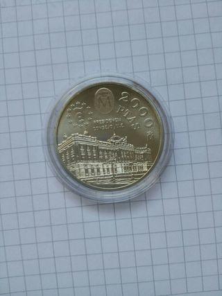 Moneda plata 2000 pts