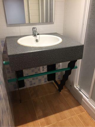 Mueble lavabo completo de segunda mano por 99 en for Lavabos segunda mano