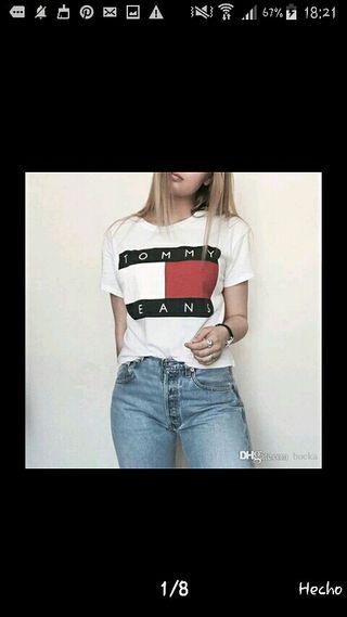 camiseta de marca mujer por encargo12€