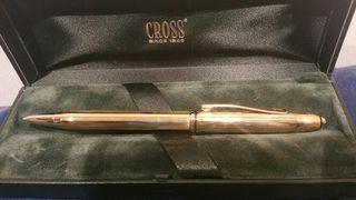 boligrafo cross de oro