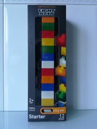 LIGHT STAX piezas Lego luminosas