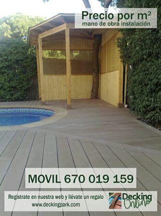 Celosias, vallas y paredes exteriores madera 3.1