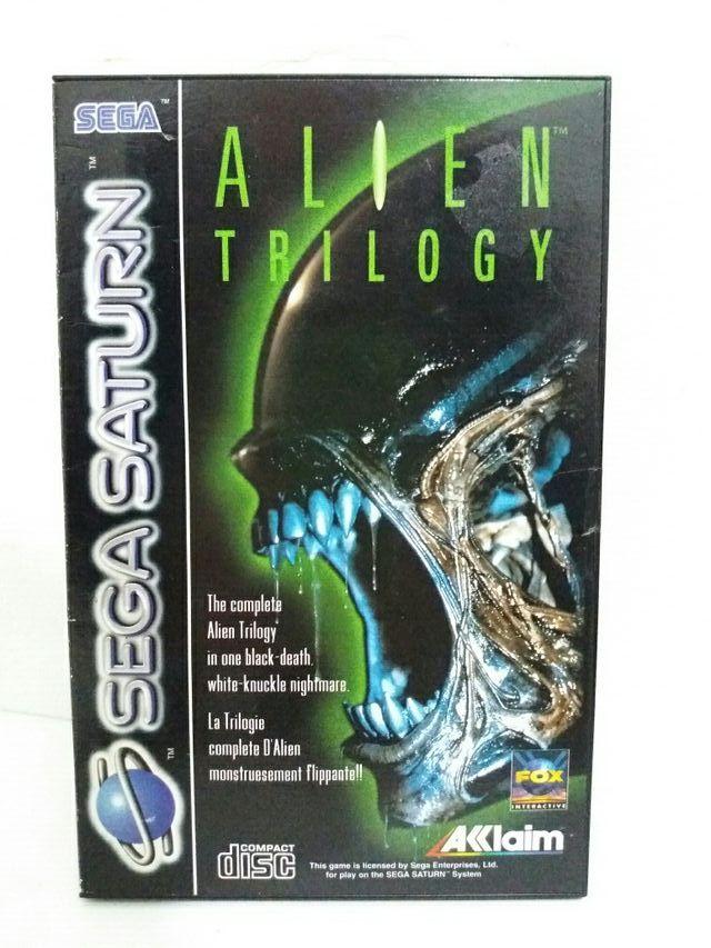 Juego Alien Trilogy Para Sega Saturn De Segunda Mano Por 49 En