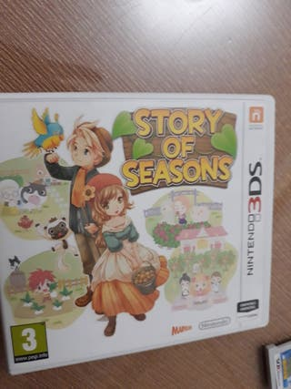 story of Season 3ds