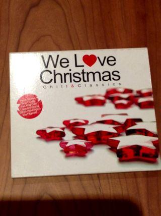 2 CD música Christmas chill & classics