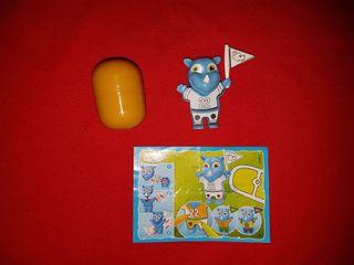 Juguete Kinder Sorpresa Rinoceronte