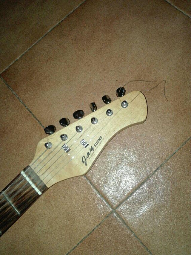 guitarra eléctrica jay sound