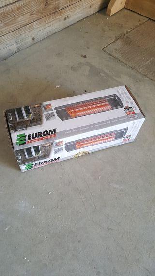 calentador infrarrojo eurom 1300