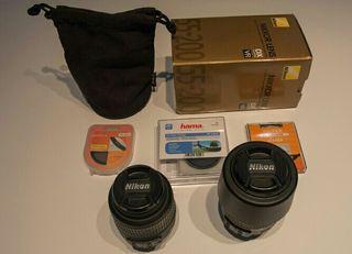 Objetivo Nikon 55- 200 VR