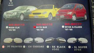 Carcasa espejos con interm Mercedes W168 W170 W208