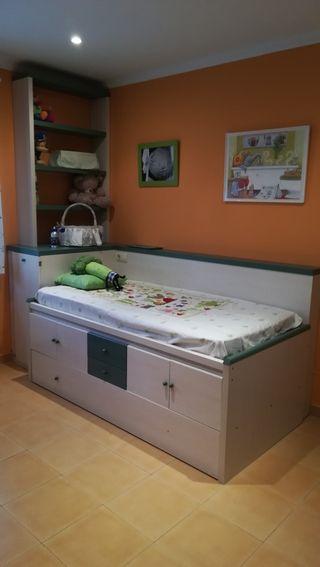 Habitacion de ni os cama nido por 250 en laudio llodio for Muebles llodio