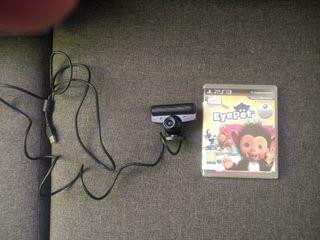 Cámara oficial Sony Playstation 3 + juego