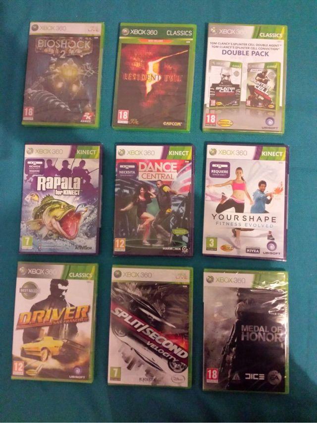 Juegos Xbox 360 Nuevos precintados