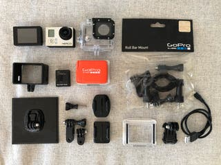 GoPro Hero3 Silver Ed. Touch screen and accesories