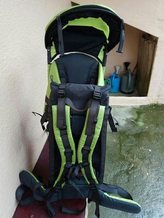 mochila montaña portabebe